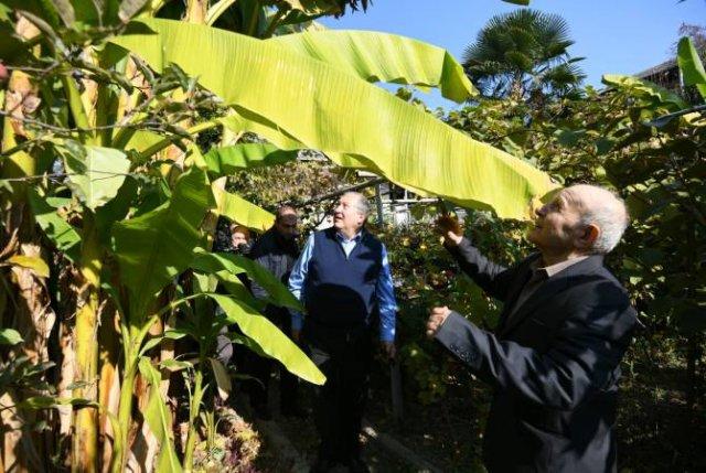 Армен Саркисян посетил тропический сад в Айгедзоре
