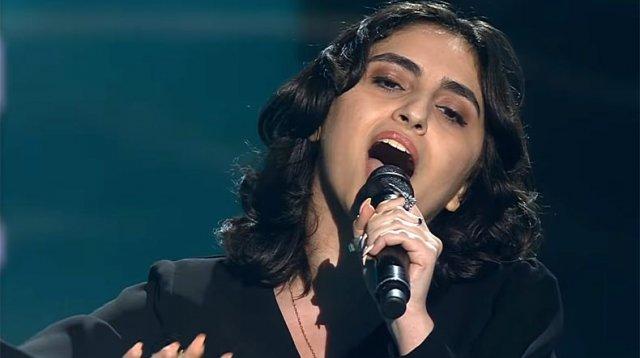 18-летняя Инна Саядян покорила сердца наставников шоу «Голос»