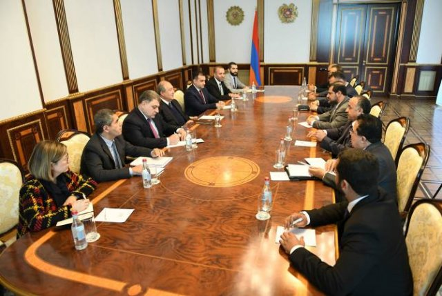 Армен Саркисян принял делегацию Экономического совета ОАЭ