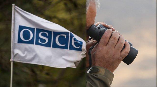 Миссия ОБСЕ 13 ноября проведет плановый мониторинг режима прекращения огня восточнее села Талиш