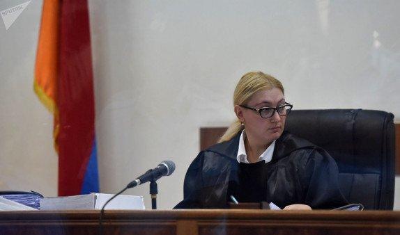 Судья по делу Кочаряна и остальных Анна Данибекян не заявила самоотвод