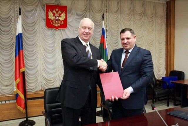 Председатели СК Армении и РФ подписали два документа