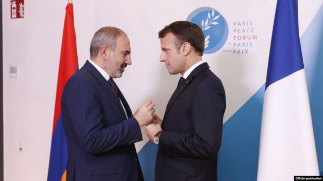 Пашинян и Макрон обсудили актуальные вопросы повестки дня армяно-французских отношений