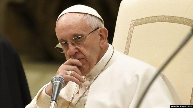 Папа Римский Франциск: Я мыслями с армянскими католиками Камышлы