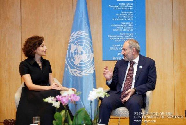 Пашинян подчеркнул важность постоянного внимания ЮНЕСКО к сохранению культурного наследия в регионе