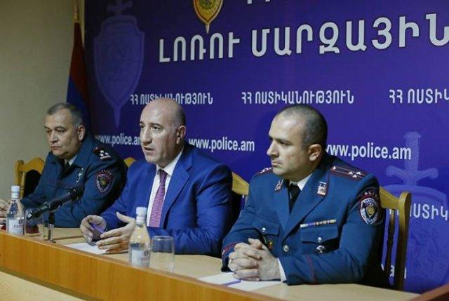 Арман Саркисян представил новоназначенных начальников областных управлений Лори и Гегаркуника