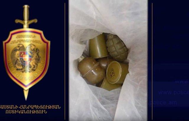 Граждане добровольно сдали гранаты и ружье в отделы полиции Наири и Арташата