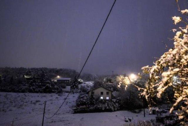 Снегопад на юго-востоке Франции оставил без света 200 тысяч домов