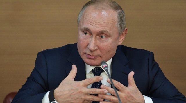 Путин даст большую пресс-конференцию 19 декабря