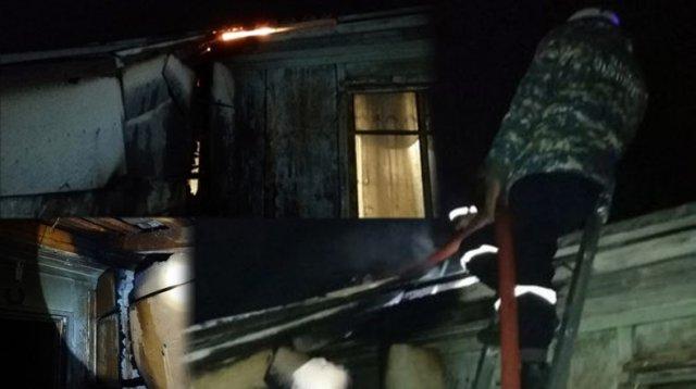 В армянском городе Ташир вспыхнул пожар: пострадавших нет