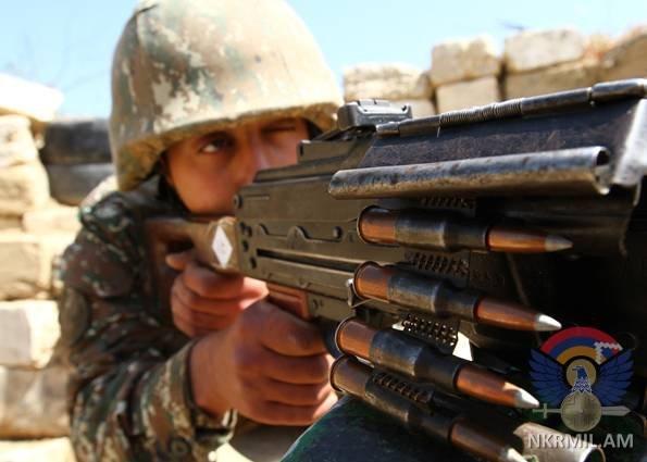 Минобороны Арцаха: За минувшую неделю ВС Азербайджана нарушили режим перемирия около 210 раз