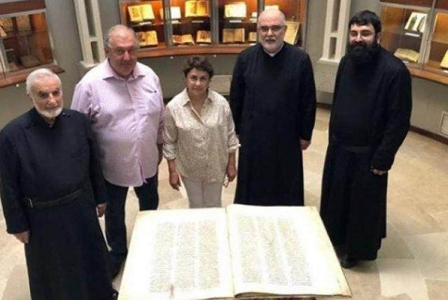 Остров Святого Лазаря нуждается в нашем внимании и помощи — президент Армен Саркисян