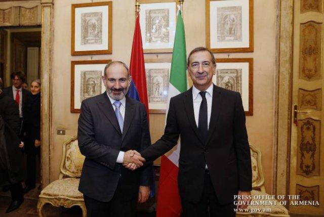 Премьер-министр Армении обсудил с мэром Милана вопросы сотрудничества