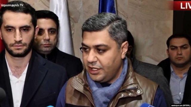Артур Ванецян подал в отставку с должности председателя Федерации футбола Армении
