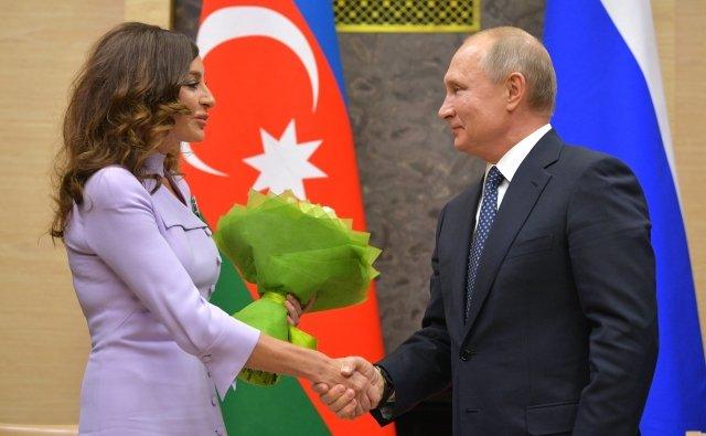Мехрибан Алиева в Москве чувствует себя как дома
