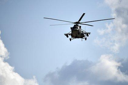 Российский вертолет жестко сел из-за отказа винта