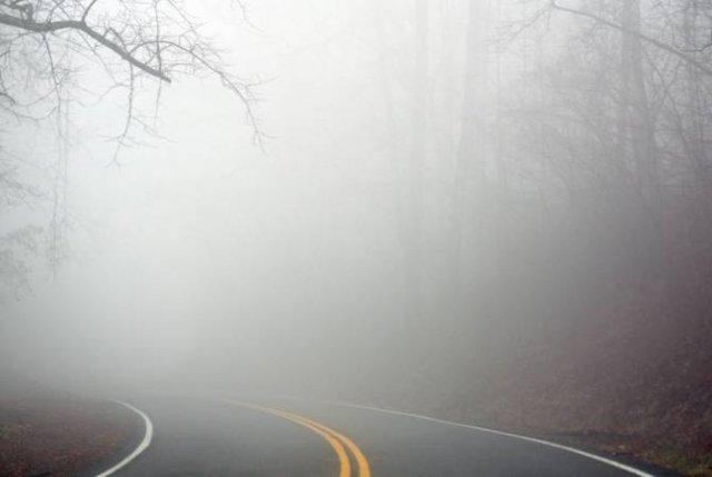 На поворотах Дилижана и на автодороге Горис–Капан туман