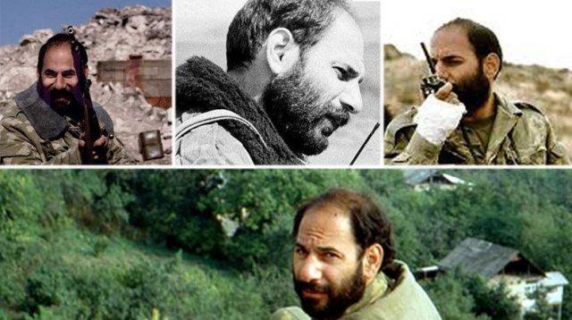 Герою Армении и Арцаха Монте Мелконяну исполнилось бы 62 года