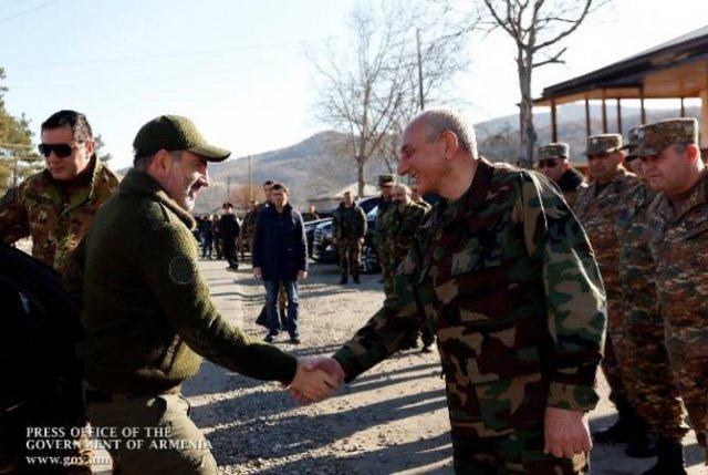 Никол Пашинян и Бако Саакян коснулись вопросов, связанных с предстоящими выборами в Арцахе
