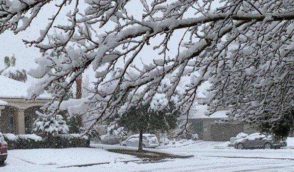 Ряд областей Армении окажутся во власти обильного снегопада