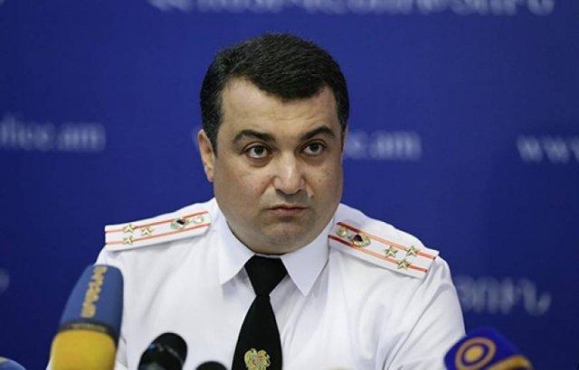 Тело бывшего начальника полиции Еревана Ашота Карапетяна перевезено в Армению. МИД