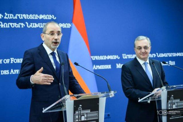 Армения и Иордания готовы полностью реализовать неиспользованный потенциал сотрудничества
