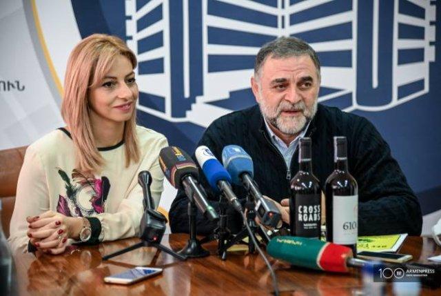 В Армении произведено первое сертифицированное органическое вино