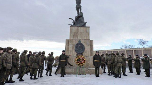На российской военной базе в Армении прошли мероприятия, посвященные Дню Неизвестного Солдата