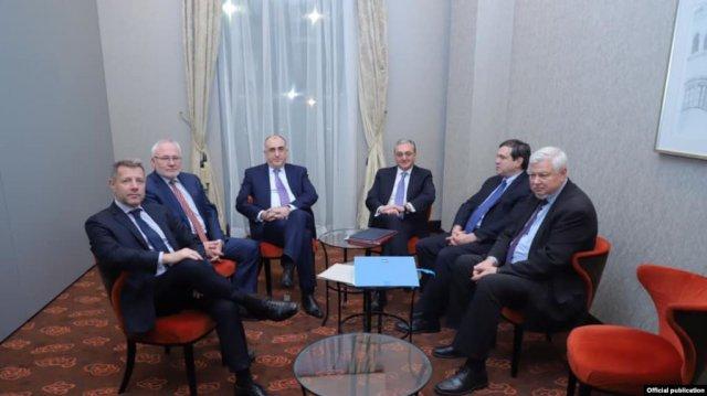Состоялась встреча главы МИД Армении с сопредседателями МГ ОБСЕ