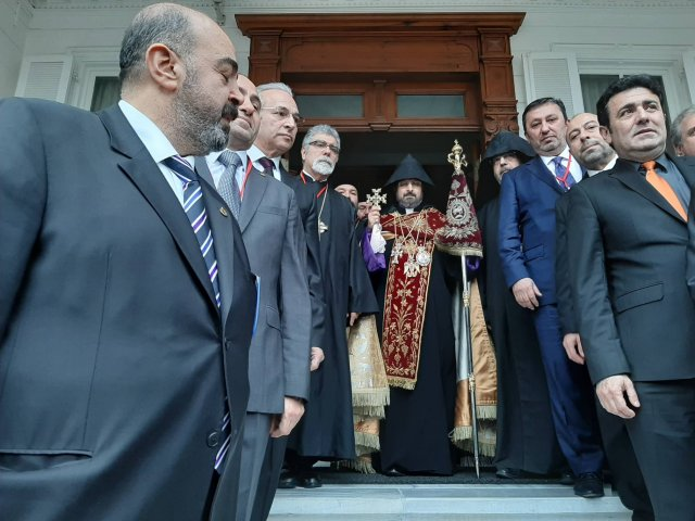 Саак Машалян стал 85-м Константинопольским патриархом ААЦ