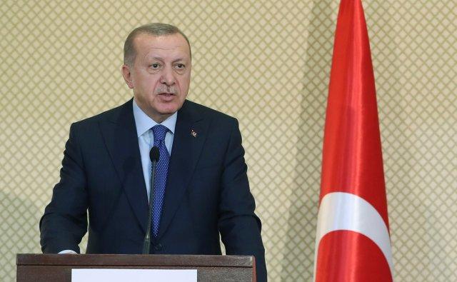 Эрдоган рассказал о двух тысячах бойцов ЧВК «Вагнер» в Ливии