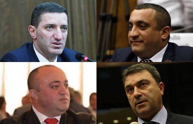 Спикер парламента Армении применил дисциплинарную меру к четырем депутатам ППА