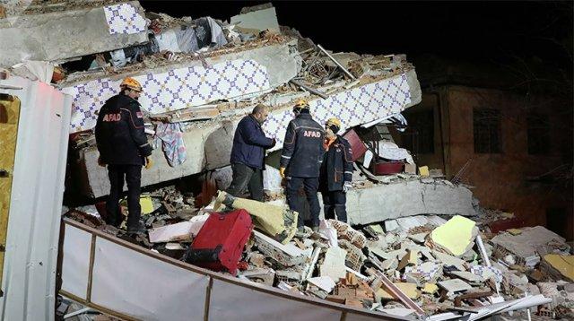 Последствия землетрясения в Турции сняли с беспилотника