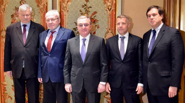 Глава МИД Армении в Женеве встретился с сопредседателями Минской группы ОБСЕ