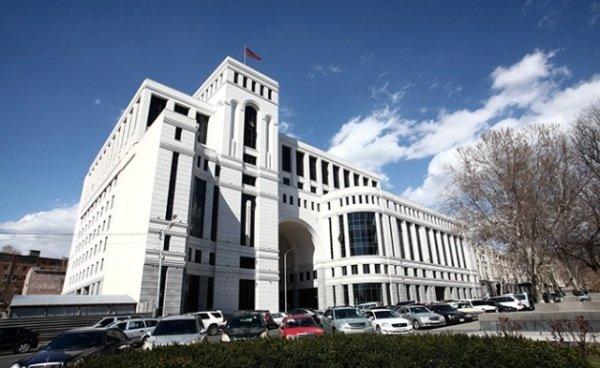 МИД Армении: Турция не может играть роли в процессе карабахского урегулирования