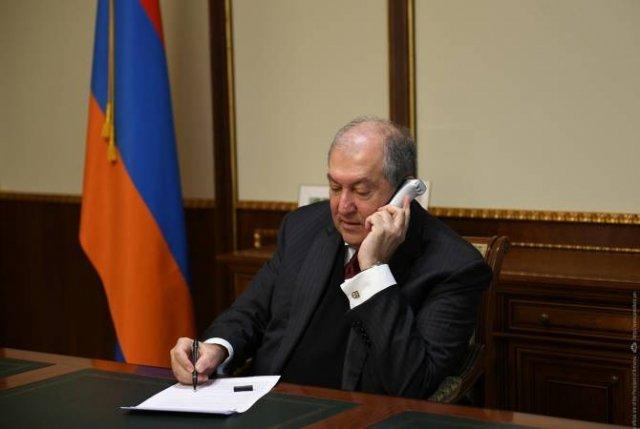 Президенты Армении и Израиля представили шаги по предотвращению распространения коронавируса