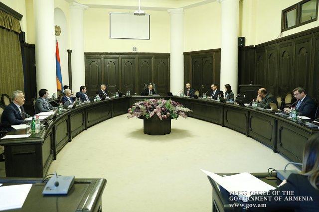 В правительстве Армении обсуждены меры по устранению экономических последствий коронавируса