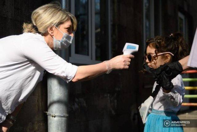В детсады Еревана привели 2 071 детей: с 20 мая дошкольные учреждения возобновили работу