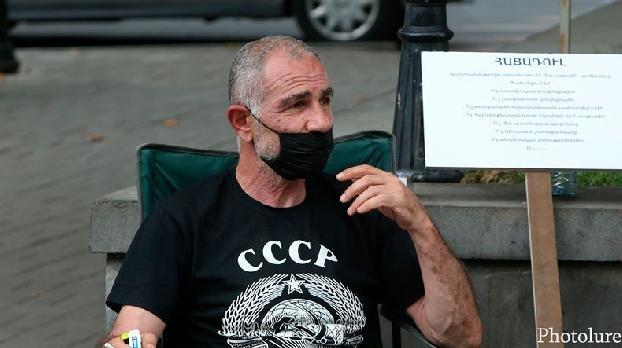 Исраел Акопкохян объявил голодовку (видео)