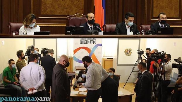 Голосование в НС Армении: фракция «Мой шаг» избирает судью КС