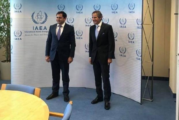 Папикян передал главе МАГАТЭ обеспокоенность в связи с угрозами Баку в отношении ААЭС