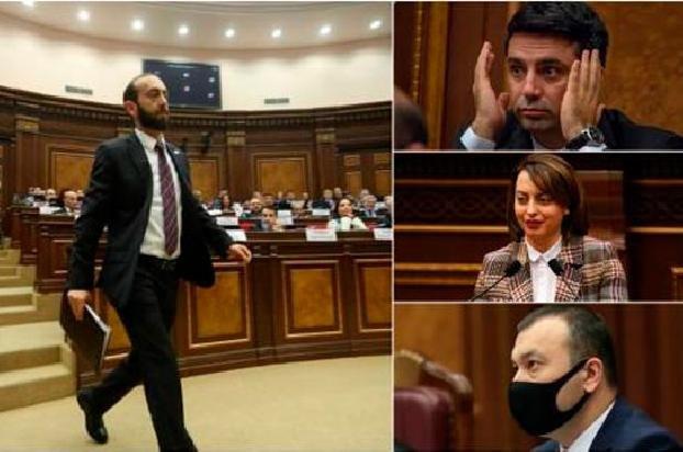 В парламенте Армении премировали депутатов и сотрудников аппарата