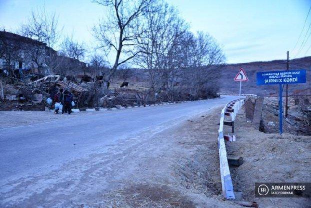 Омбудсмен Армении: Из-за блокирования дороги азербайджанцами для населения сел в Сюнике возникли ограничения к доступу к продуктам питания и медуслугам