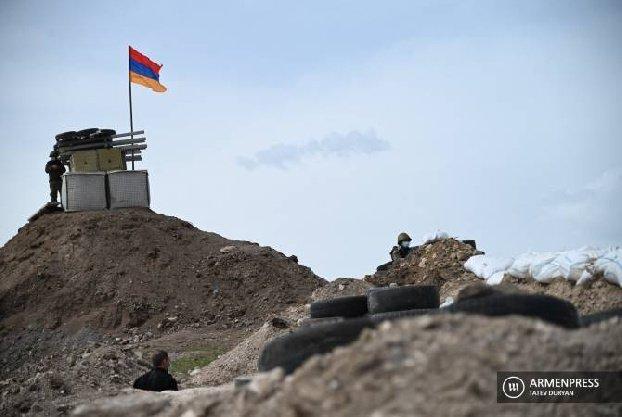 Противник стрелял по армянским позициям в районе Сотка․ Началась интенсивная перестрелка