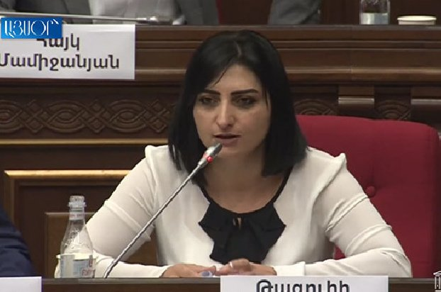 Армен Чарчян сообщил, что преследование, пытки в его отношении осуществляются по Вашему указанию – Тагуи Товмасян обратилась к Гагику Джангиряну