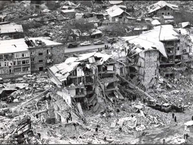 Землетрясение в Спитаке 1988 года