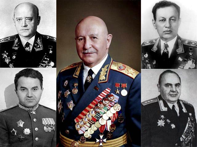 Армянские Маршалы Советского Союза - Маршалы армяне